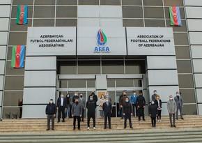 Де Бьязи и официальные лица АФФА почтили память шехидов