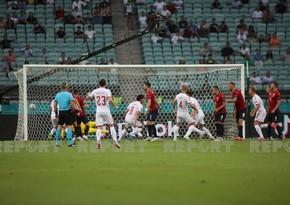 Дания одержала победу в Баку и вышла в четвертьфинал