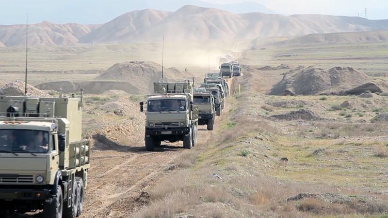 Azərbaycan Ordusunun Naxçıvanda komanda-qərargah təlimi keçirilir