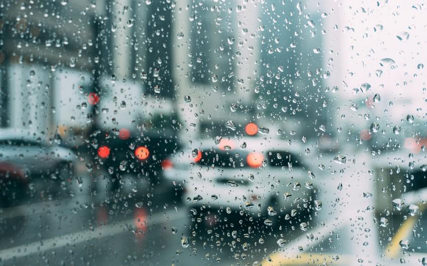 Завтра в Азербайджане ожидаются грозы, дожди