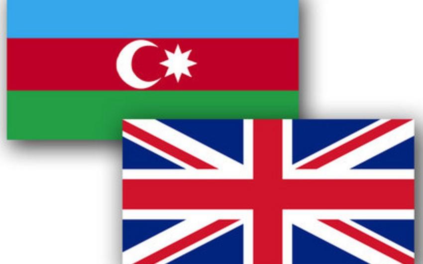 Azərbaycan Böyük Britaniya ilə əlaqələrin daha da genişləndirilməsi üçün hökumətlərarası birgə komissiyanın yaradılmasını təklif edib