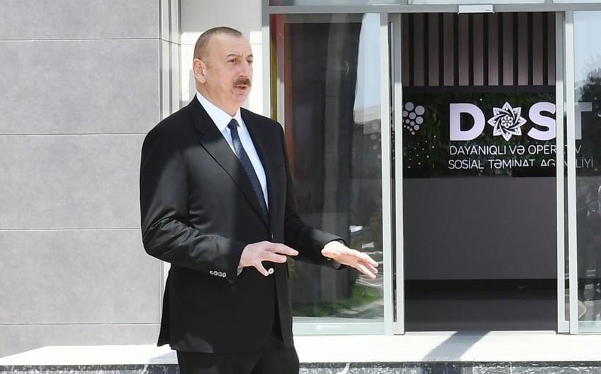 Prezident: Yumşalma tədbirləri yoluxanların sayına mənfi təsir göstərmişdir