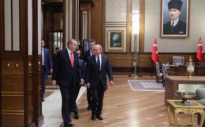 Ərdoğan: Putin 2018-ci ildə Türkiyəyə səfər edəcək