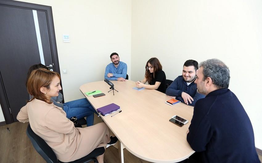 Report Media Məktəbinin yeni təlim proqramına start verilib