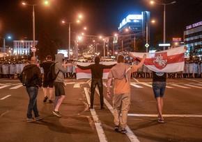 Ötən gün Belarusda 700 nəfər saxlanılıb