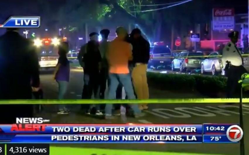ABŞ-da maşın piyadaları vurub, iki nəfər ölüb - VİDEO