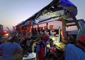 В Турции автобус столкнулся с большегрузом, 9 человек погибли