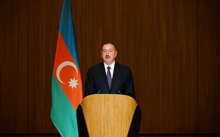 Президент Ильхам Алиев: Развитие азербайджанского спорта - показатель нашего общего развития