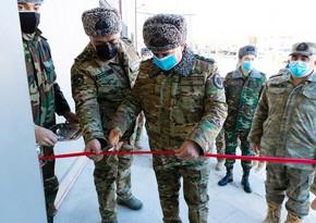 DTX-nin Şuşa rayon idarəsinin yeni binasının təntənəli açılışı olub