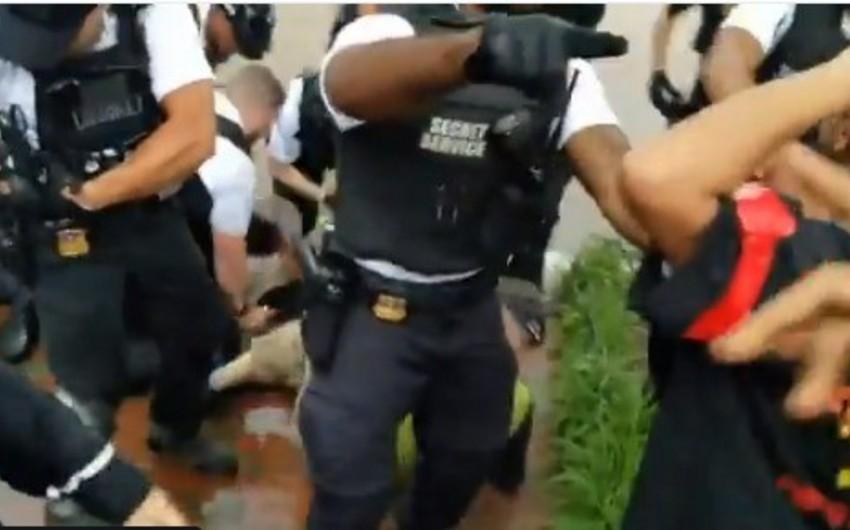 В США произошло столкновение перед Белым домом - ФОТО - ВИДЕО