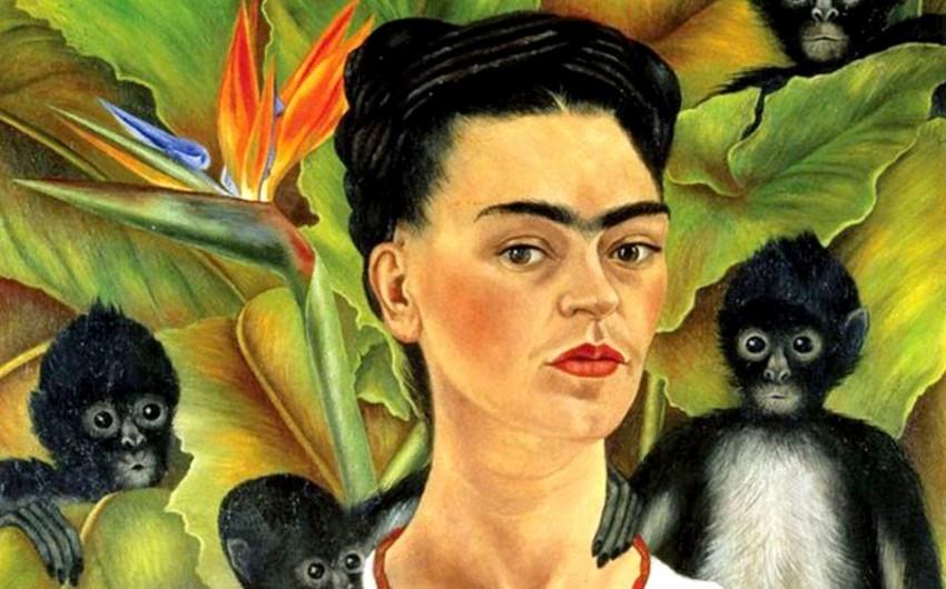 """Bakıda """"Frida"""" adlı fotosərginin açılışı olub"""
