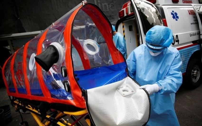 Meksikada koronavirusa yoluxanların sayı 90 mini ötdü