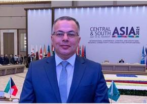 Vusal Gasimli: Asian countries support Zangazur Corridor