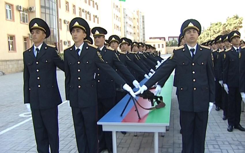 DİN-in Polis Akademiyasında andiçmə mərasimi keçirilib