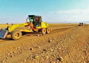 Bərdə-Ağdam avtomobil yolunun tikintisi davam etdirilir