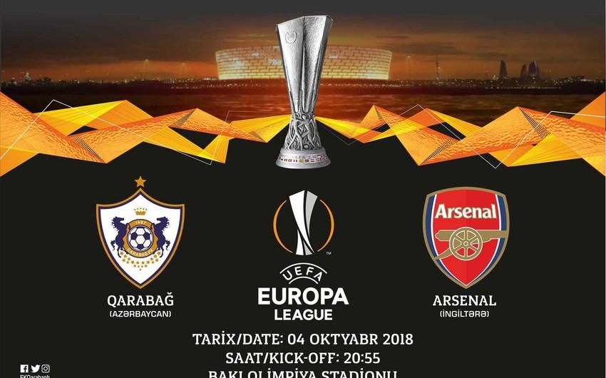 Qarabağ - Arsenal oyununa 20 min bilet satılıb