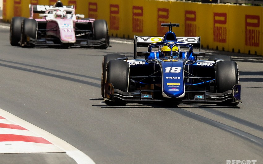 """Bakıda keçirilən """"Formula 2 yarışında sıralama turunun qalibi müəyyənləşib"""