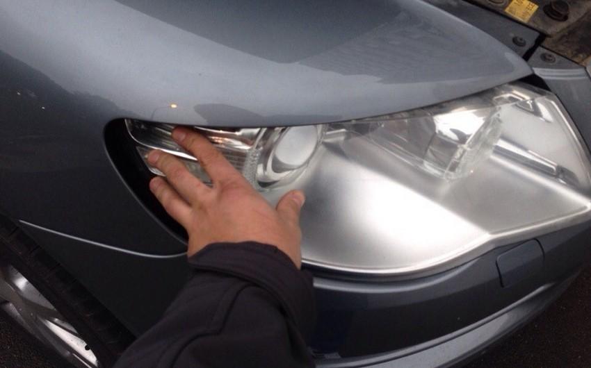 Yerevanda keçmiş qubernatorun oğlunun avtomobili qarət edilib