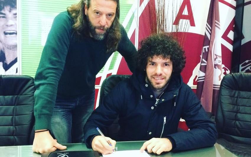 Azərbaycanlı futbolçu Yunanıstan klubu ilə müqavilə imzalayıb