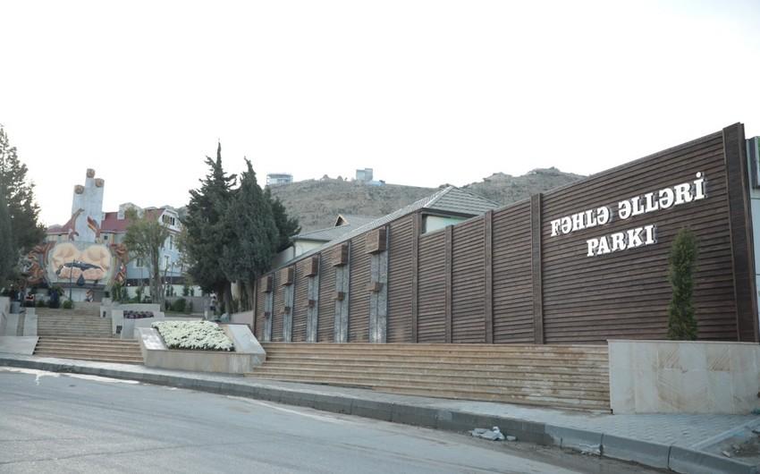 Bakıdakı Fəhlə əlləri parkı təmir olunub
