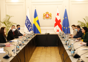Georgian president invites OSCE to hold conference involving women leaders