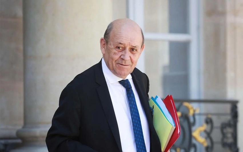 Jean-Yves Le Drian welcomes meeting between Azerbaijani and Armenian foreign ministers