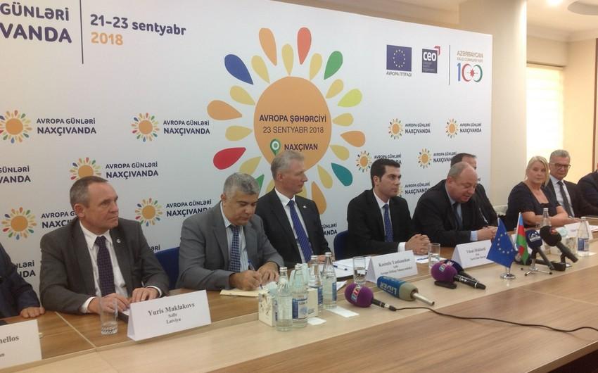 Nakhchivan hosts European days