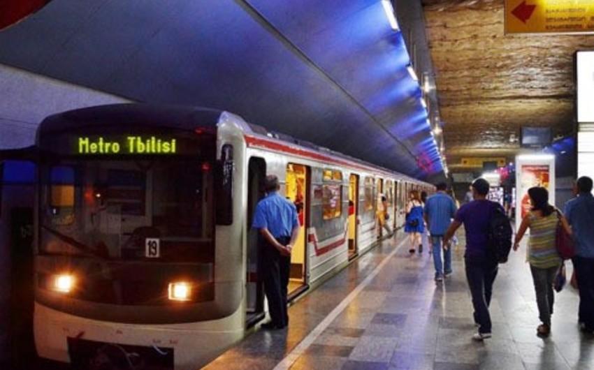 """""""Dinamo"""" və """"Qəbələ"""" arasında cavab görüşü ilə bağlı Tbilisi metrosunun iş qrafikinə dəyişiklik edilib"""