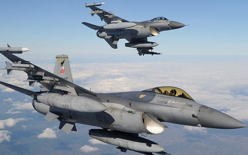 Türkiyə İraq Kürdistanına havadan zərbə endirib