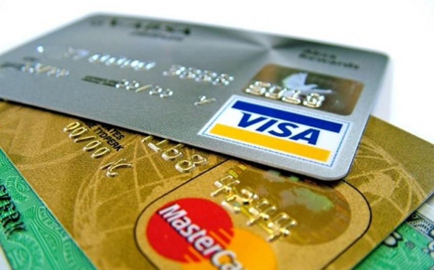 Azərbaycanda kredit kartlarının ödəniş kartlarında xüsusi çəkisi 21%-i ötüb