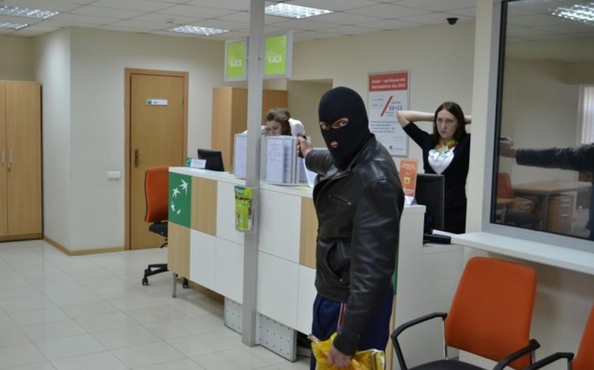Tbilisidə bank filialı son aylarda üçüncü dəfə qarət edilib