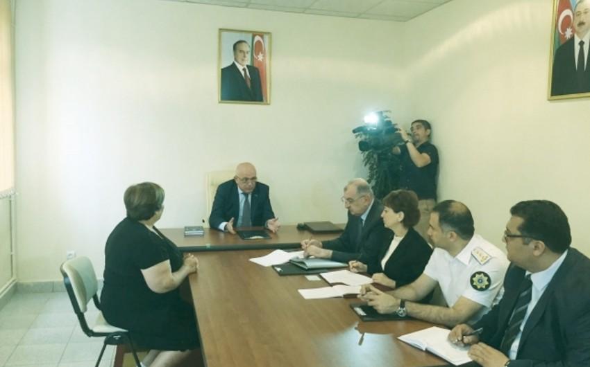 Dövlət Gömrük Komitəsinin sədri Gədəbəydə vətəndaşlarla görüşüb