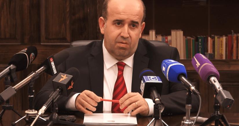 Armenian governor resigns