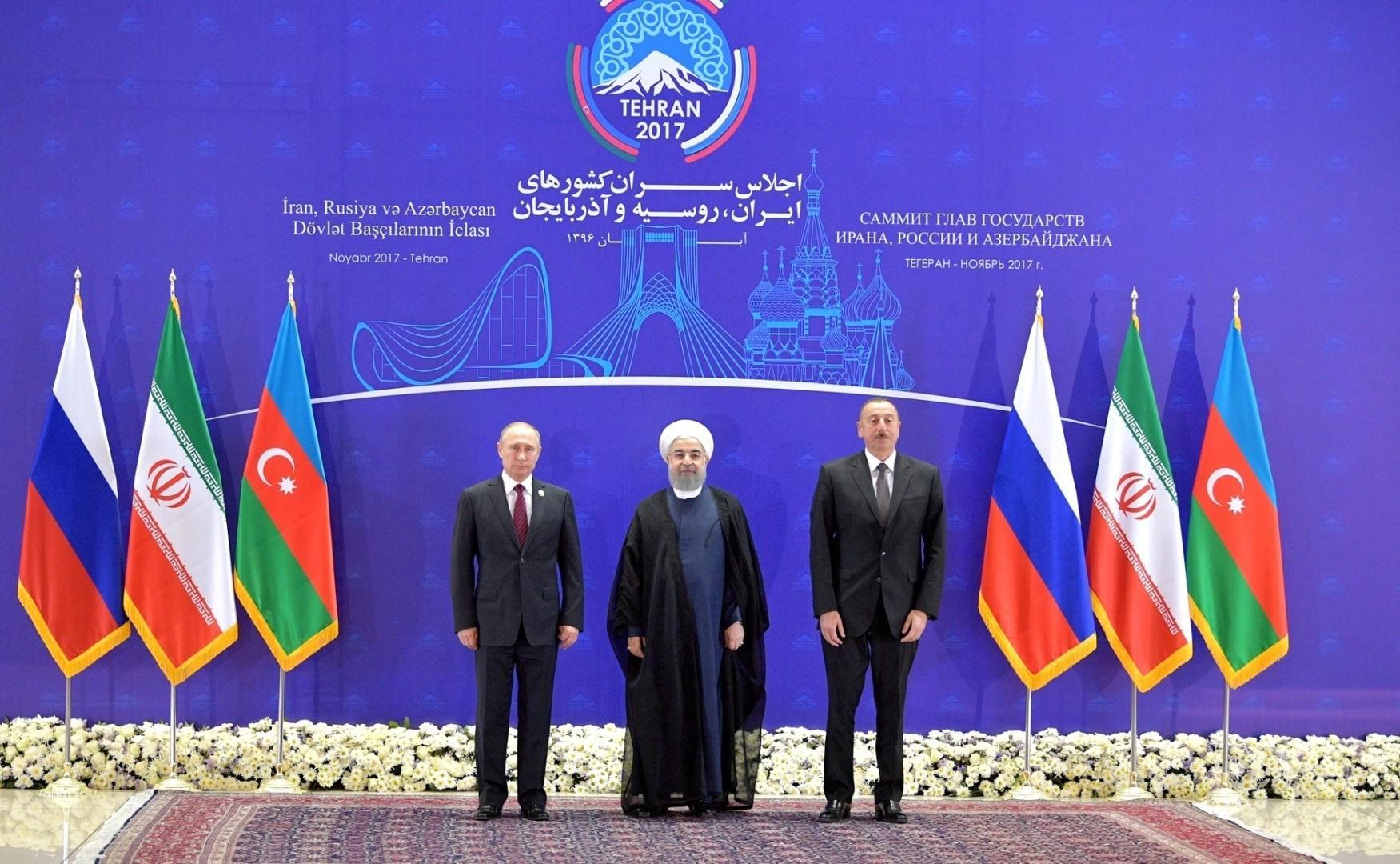 Rusiya, Azərbaycan və İran prezidentlərinin görüşü başqa vaxta keçirilib