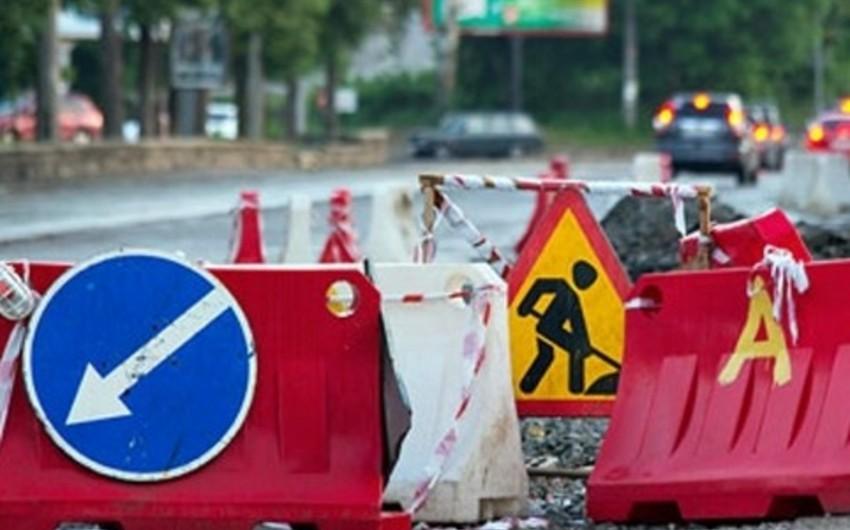 Bakı-Şamaxı-Yevlax avtomobil yolunun bir hissəsi bağlanacaq