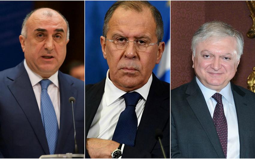 Обнародована дата встречи глав МИД Азербайджана, Армении и России в Москве