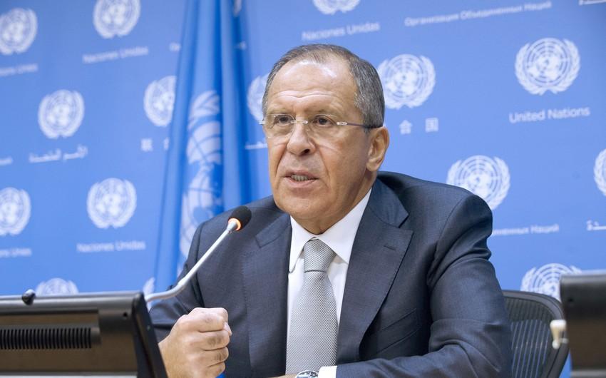 Lavrov: Situation in Karabakh returns to normal