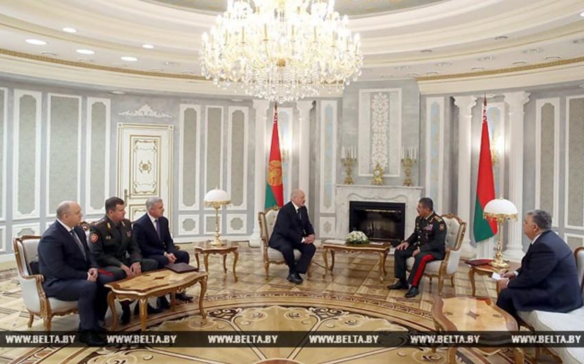 Lukashenko: Belarus and Azerbaijan will strengthen cooperation in defense sphere
