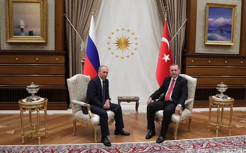 Türkiyə və Rusiya prezidentləri ikitərəfli və regional məsələləri müzakirə ediblər - YENİLƏNİB-2 - VİDEO