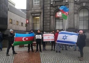 Şotlandiyada erməni terroruna qarşıetiraz aksiyası keçirilib