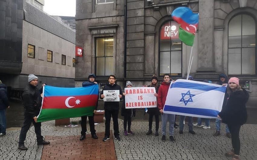 <p><strong>Şotlandiyada erməni terroruna qarşı etiraz aksiyası keçirilib</strong></p>