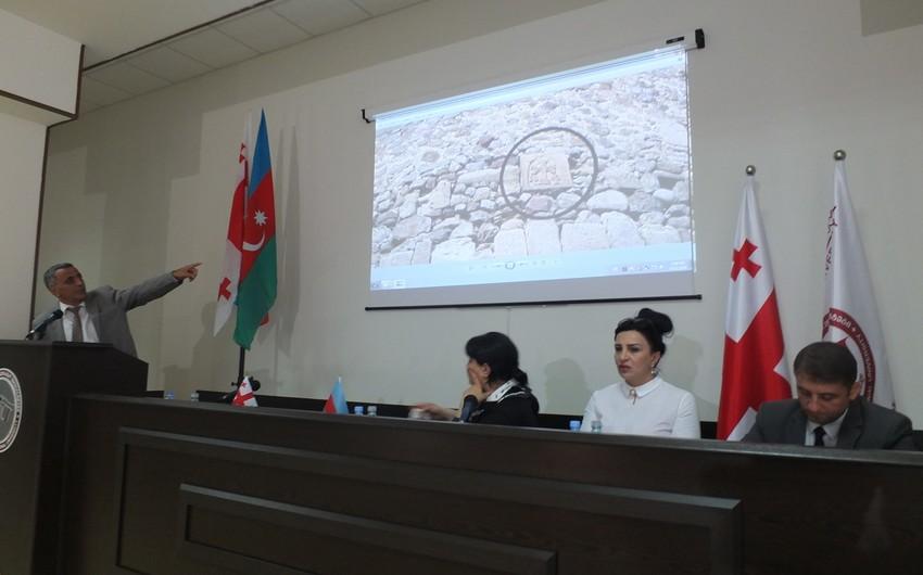 """Ketevan Saşiaşvili: """"Dünya birliyi erməni vandalizminə qarşı birgə mübarizə aparmalıdır"""""""