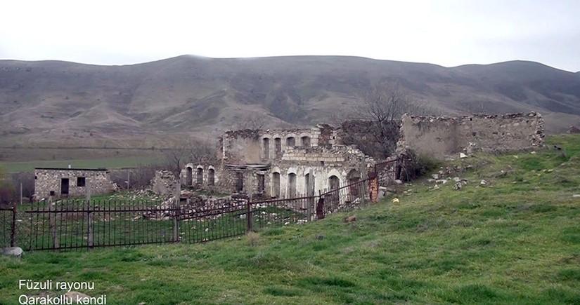 Video footage from liberated Garakollu village of Fuzuli district