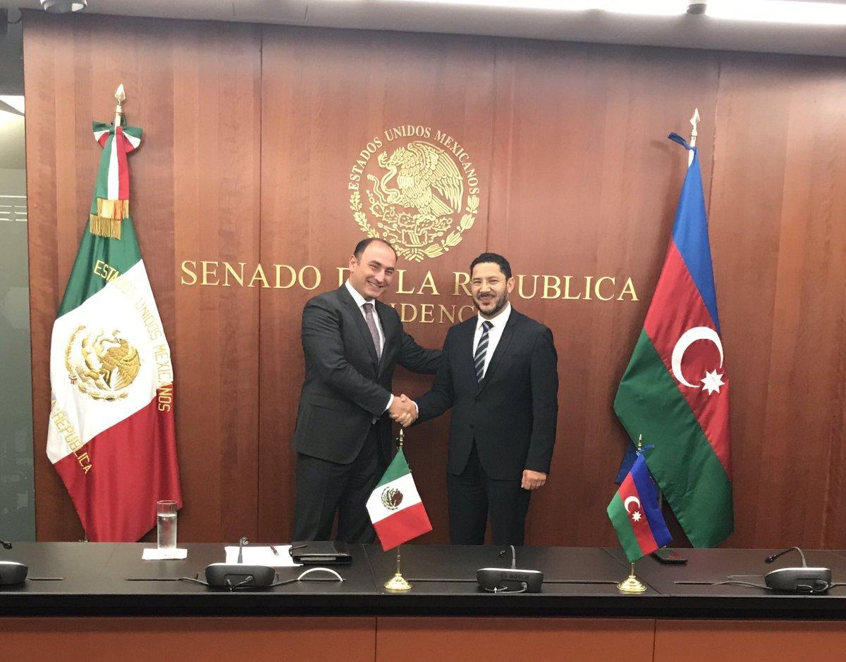 Azerbaijan and Mexico discussed establishment of inter-parliamentary relations