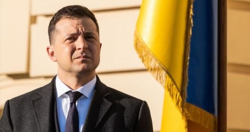 Zelenski: Ukrayna xalqı bu çətin zamanda dost Türkiyə ilə birlikdə olacaq