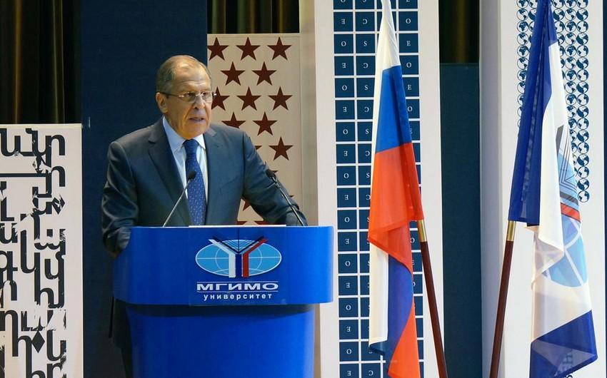 Lavrov: Ölkələr arasında əlaqələrin olmaması terrorizmin artmasına səbəb ola bilər