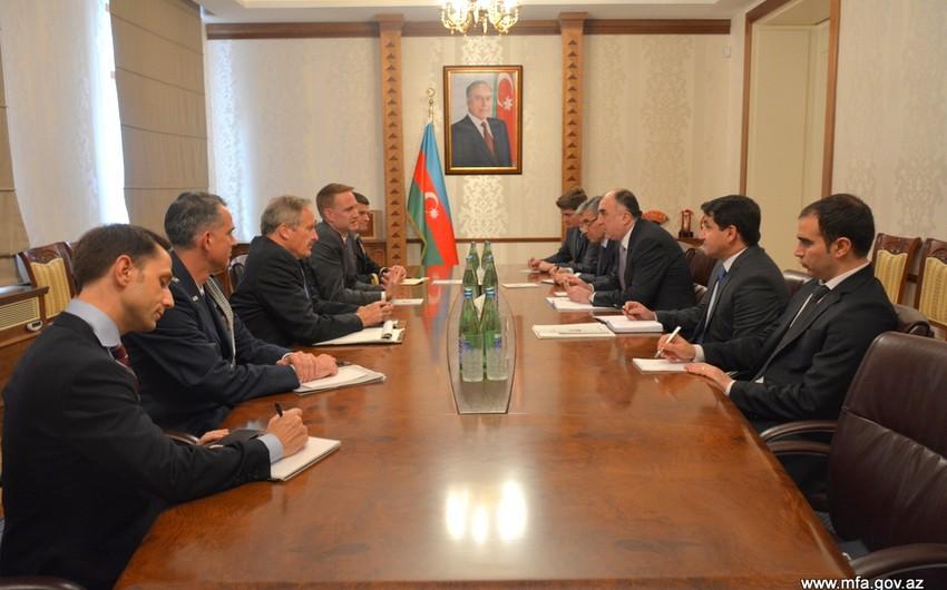 Глава МИД Азербайджана обсудил с официальным представителем США нагорно-карабахский конфликт