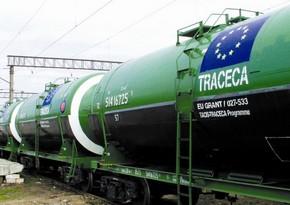 TRACECA-nın Azərbaycan hissəsində tranzit daşımalar 7 %-dən çox artıb