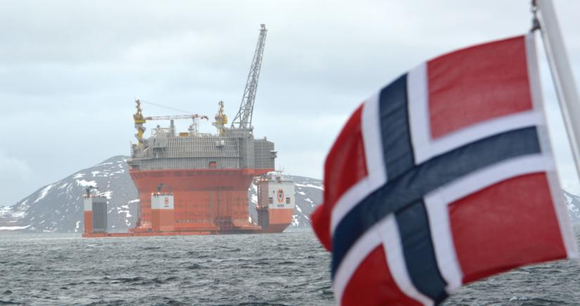 Норвегия увеличила добычу нефти и конденсата на 6%