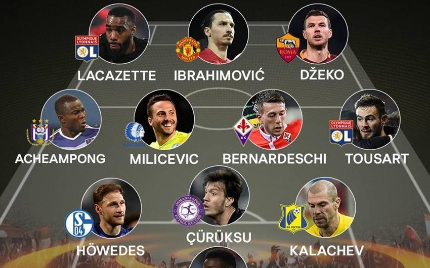 Футболист турецкого клуба попал в символический список лучших 11 игроков Лиги Европы